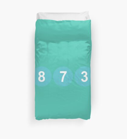 78731 ZIP Code Austin, Texas Duvet Cover
