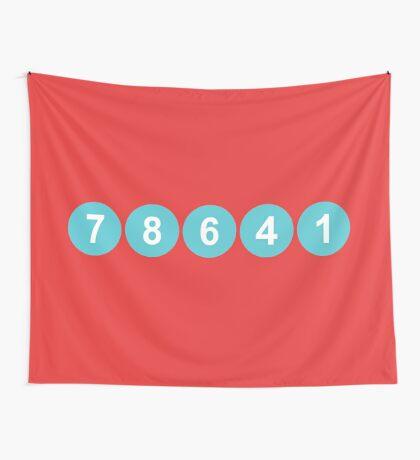 78641 ZIP Code Leander, Texas  Wall Tapestry