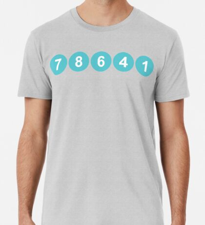 78641 ZIP Code Leander, Texas  Premium T-Shirt