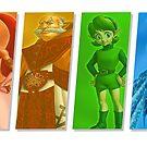 Hyrule Pride Zelda LGBT von zebrabyte