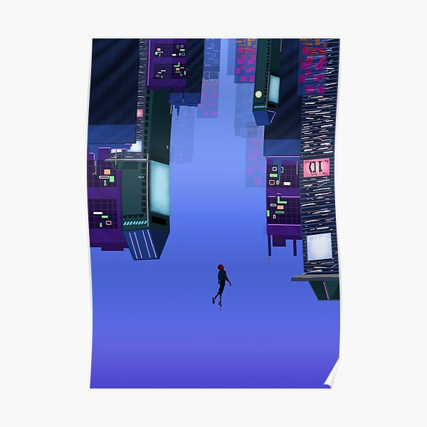 into the spider- verse Poster