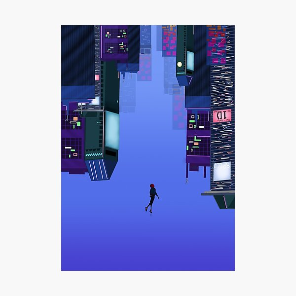 into the spider- verse Photographic Print