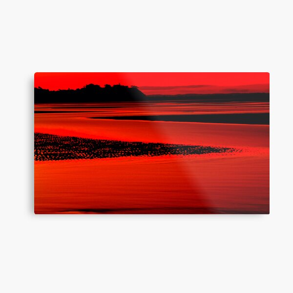 Shorncliffe in silhouette Metal Print