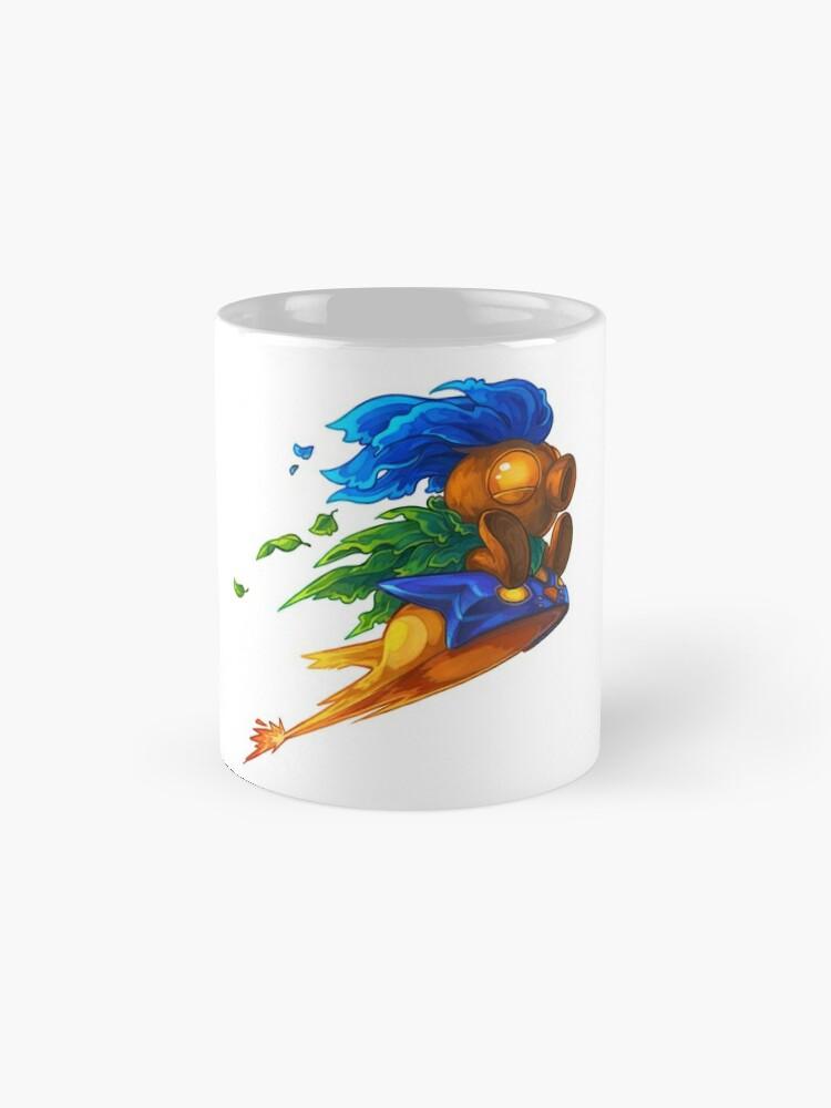 Alternate view of Hyrule's Unlikely Hero (Small) Mug