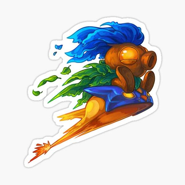 Hyrule's Unlikely Hero (Small) Sticker