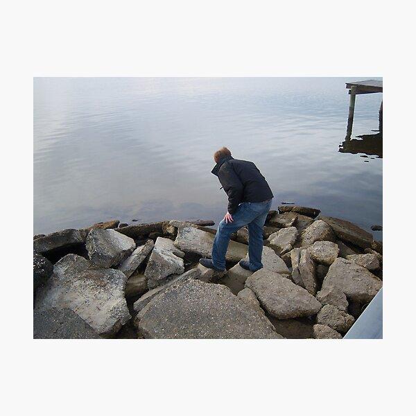 The Concrete Island Photographic Print