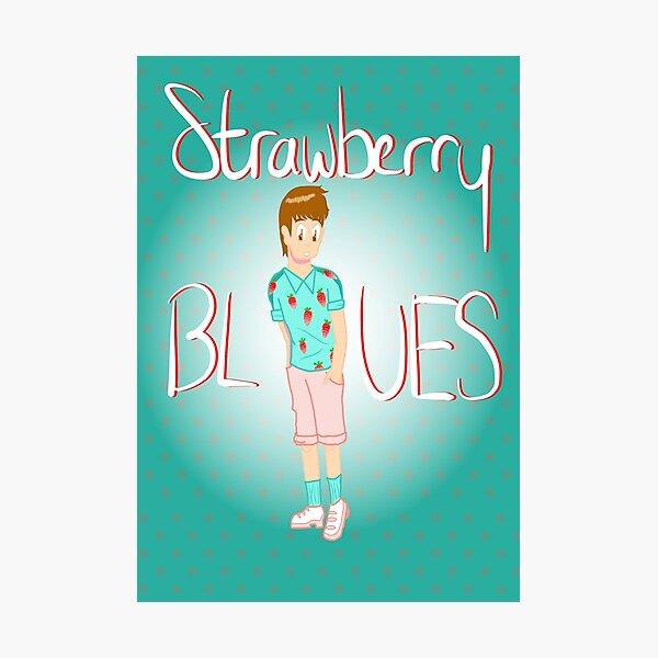 Strawberry Blues Photographic Print