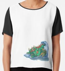 Dragon Hatchling Chiffon Top
