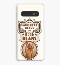 My Favorite Beans Are Toe Beans (Dog) Case/Skin for Samsung Galaxy
