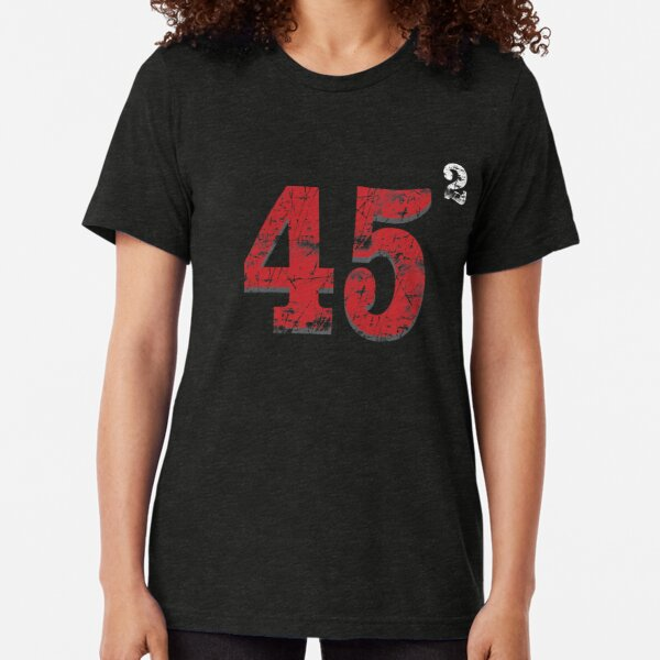 45 to the power of 2 (ReElect President Trump ) Tri-blend T-Shirt