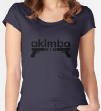 Dual G18s Women's Fitted Scoop T-Shirt