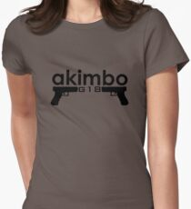 Dual G18s Women's Fitted T-Shirt