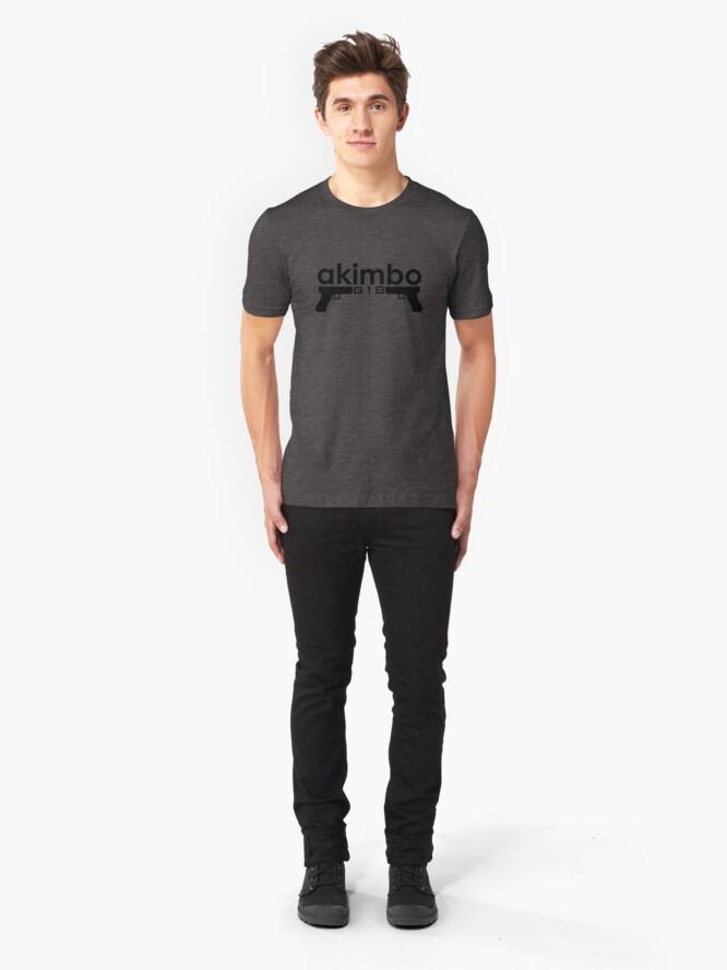 Vista alternativa de Camiseta ajustada Dual G18s