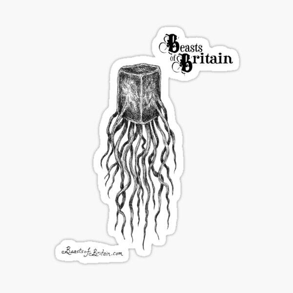 THE JELLY SQUID OF LONDON BRIDGE Sticker