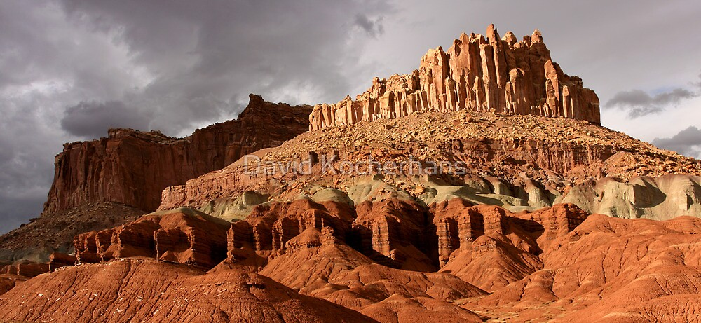 Castle Rock Panorama by David Kocherhans