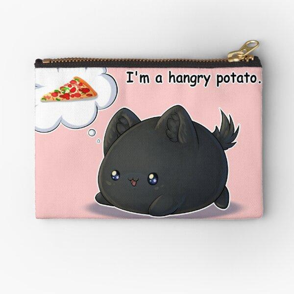 Hangry Potato Zipper Pouch