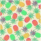 Pineapple Pandemonium Multicolor by Lisa Argyropoulos