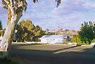 Pastel Landscape... Broken Hill by Juilee  Pryor