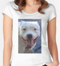 Pit Bull Pretty Women's Fitted Scoop T-Shirt