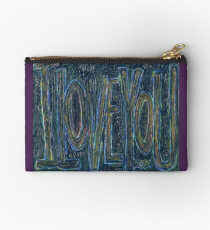 I Love You -  Brianna Keeper Painting Zipper Pouch