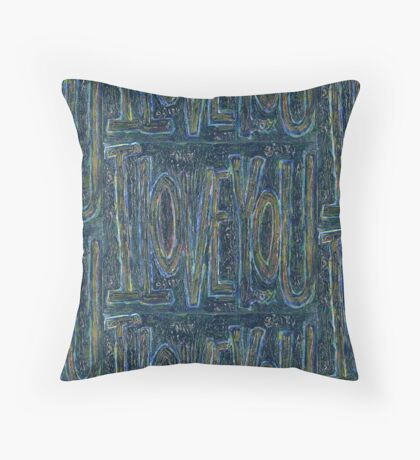 I Love You -  Brianna Keeper Painting Floor Pillow