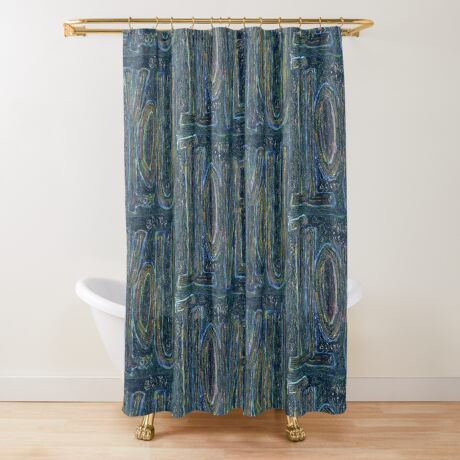 I Love You -  Brianna Keeper Painting Shower Curtain
