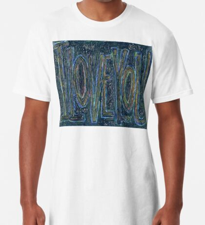I Love You -  Brianna Keeper Painting Long T-Shirt