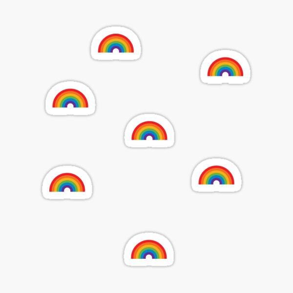 rainbow sticker pack Sticker