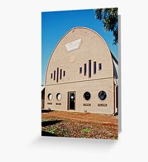 Radio Station 2BH.... Broken Hill Greeting Card