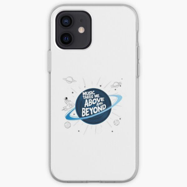 Music Takes Me Above And Beyond iPhone Soft Case