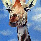 Funky Giraffe by Pauline Jones