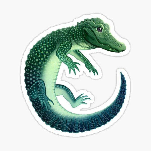 Chinese Alligator Sticker