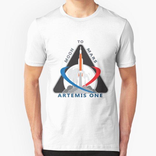 Artemis Mission One Logo Slim Fit T-Shirt