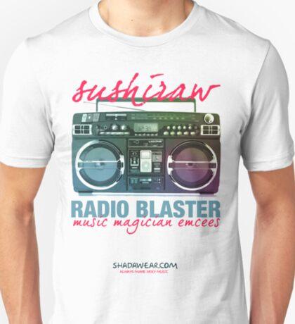 Sushiraw Radio Blaster T-Shirt