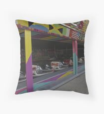 Empty cars Throw Pillow