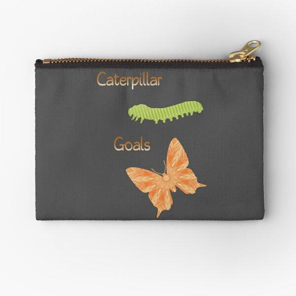 Caterpillar Goals Zipper Pouch