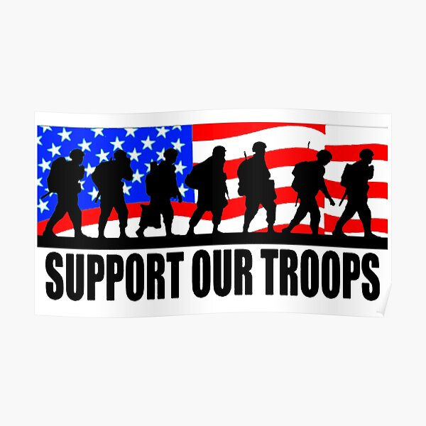 Support Our Troops Logo