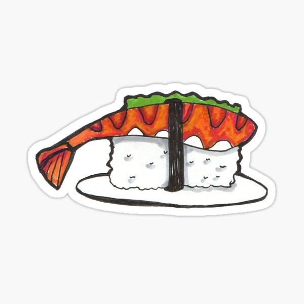Sushi Sticker