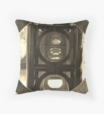 Under workings Throw Pillow