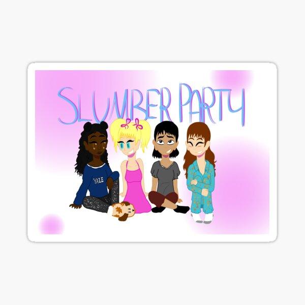 Slumber Party Sticker