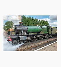 The Odny Manor Steam Loco West Somerset Railway Photographic Print