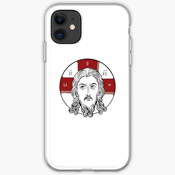 Icon Not Made With Hands | The Holy Face | Face of Christ iPhone Soft Case