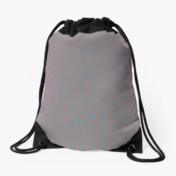 #Op #art - art movement, short for optical art, is a style of visual art that uses optical illusions #OpArt #OpticalArt Drawstring Bag