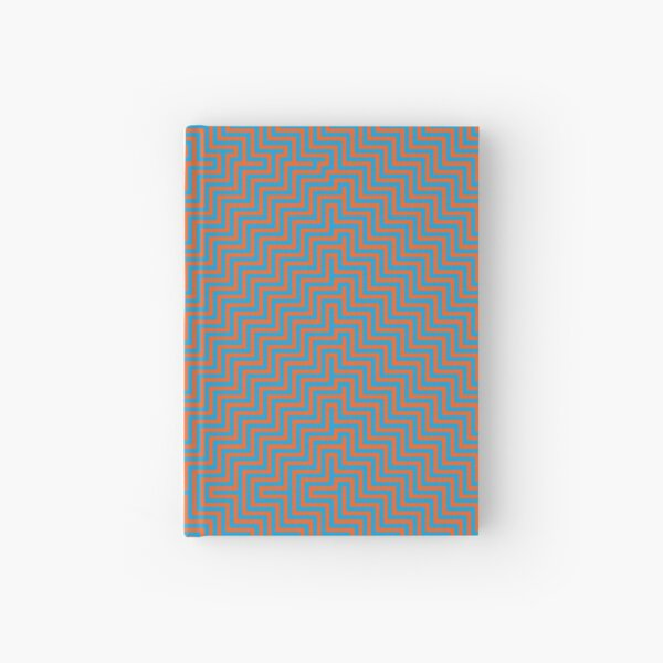 #Op #art - art movement, short for optical art, is a style of visual art that uses optical illusions #OpArt #OpticalArt Hardcover Journal