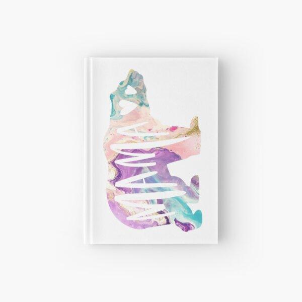 Mama Bear Boho Purple Watercolor Hardcover Journal