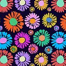 New Pop Art Daisies by BigFatArts