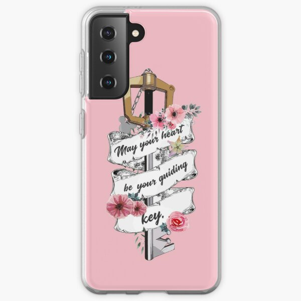 Kingdom Hearts May your heart be your guiding key 2 Samsung Galaxy Soft Case