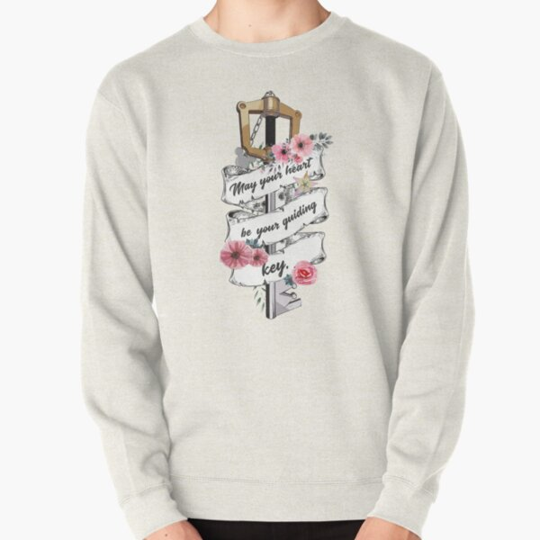 Kingdom Hearts May your heart be your guiding key 2 Pullover Sweatshirt