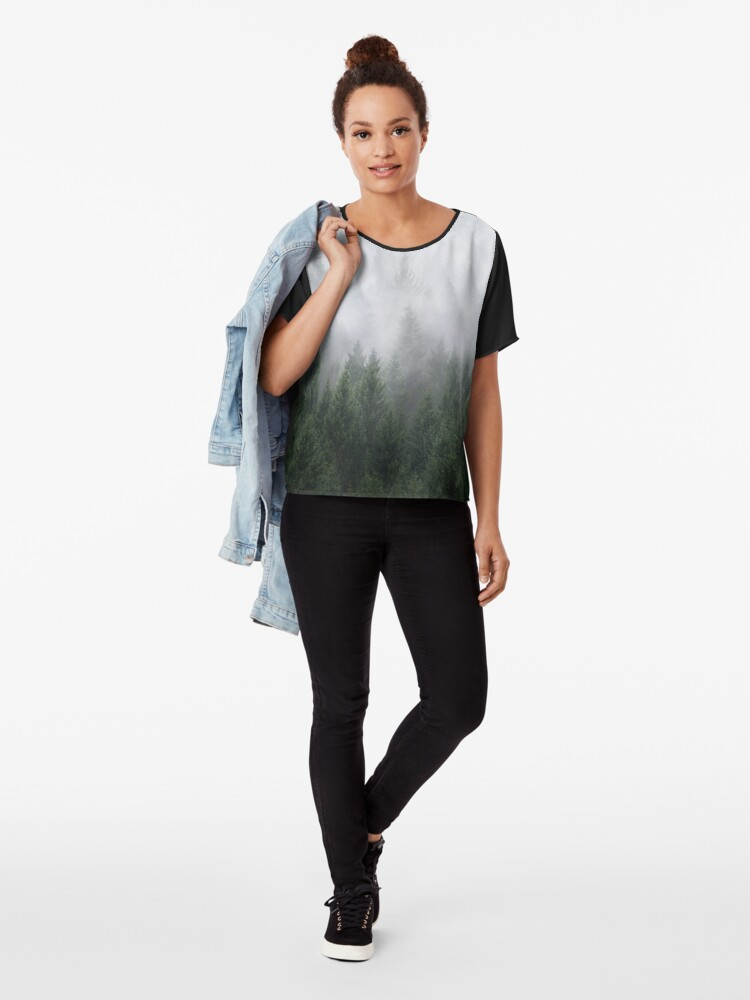 Alternate view of Home Is A Feeling Chiffon Top