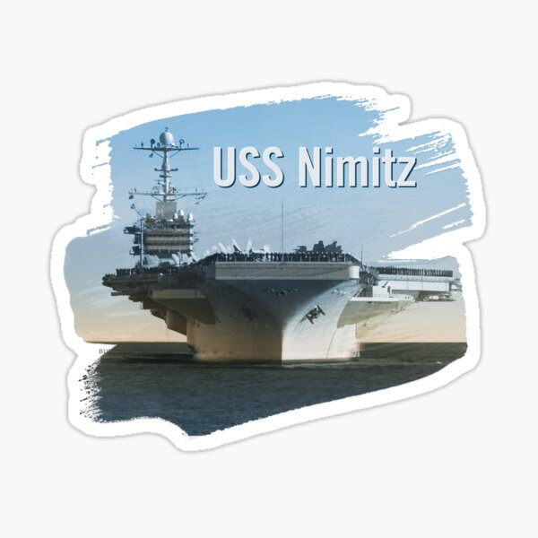 USS Nimitz Sticker
